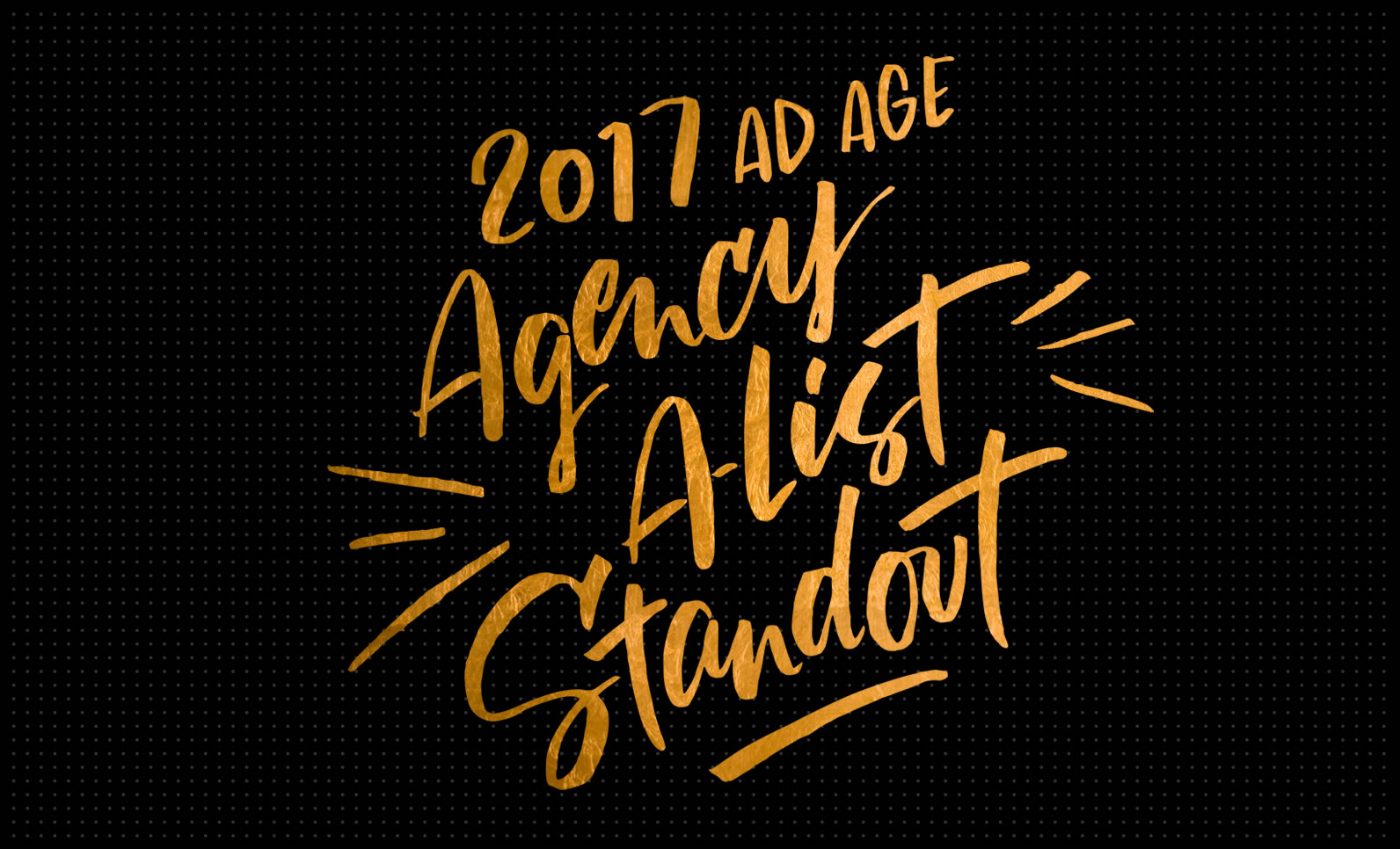 Weber Shandwick Named to Advertising Age's 2017 A-List Agency Standout List