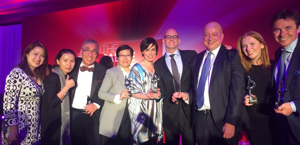 Wins all around at the APAC SABRE Awards