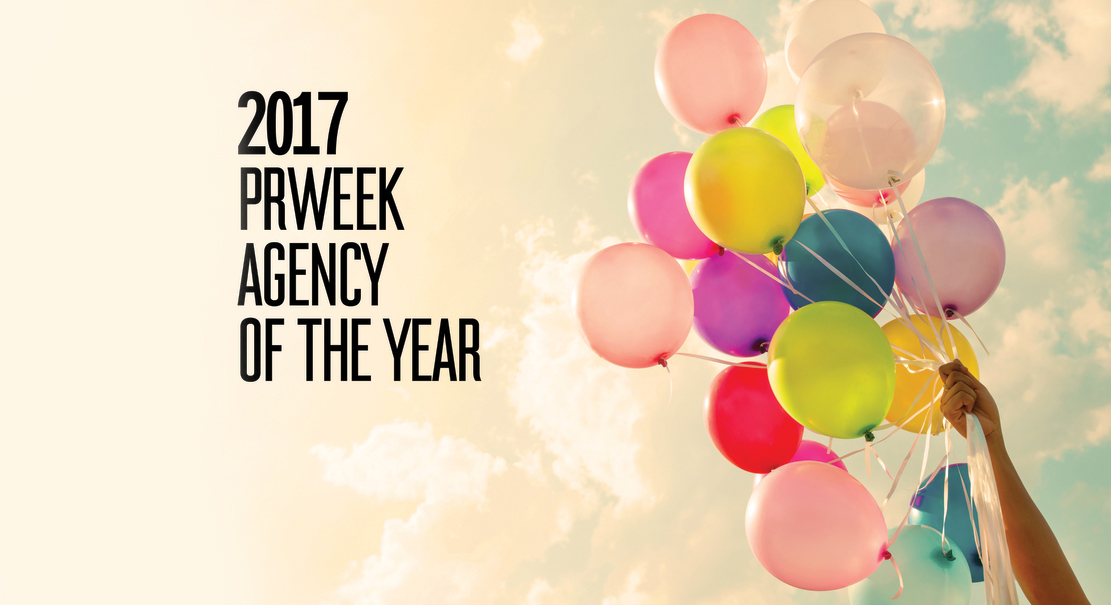 PRWeek U.S. Names Weber Shandwick Agency of the Year for Third Consecutive Year