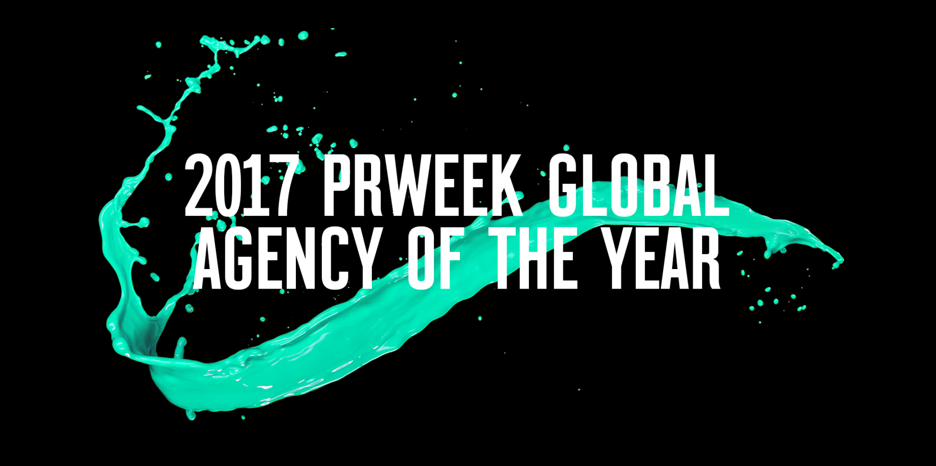PRWeek Names Weber Shandwick 2017 Global Agency of the Year
