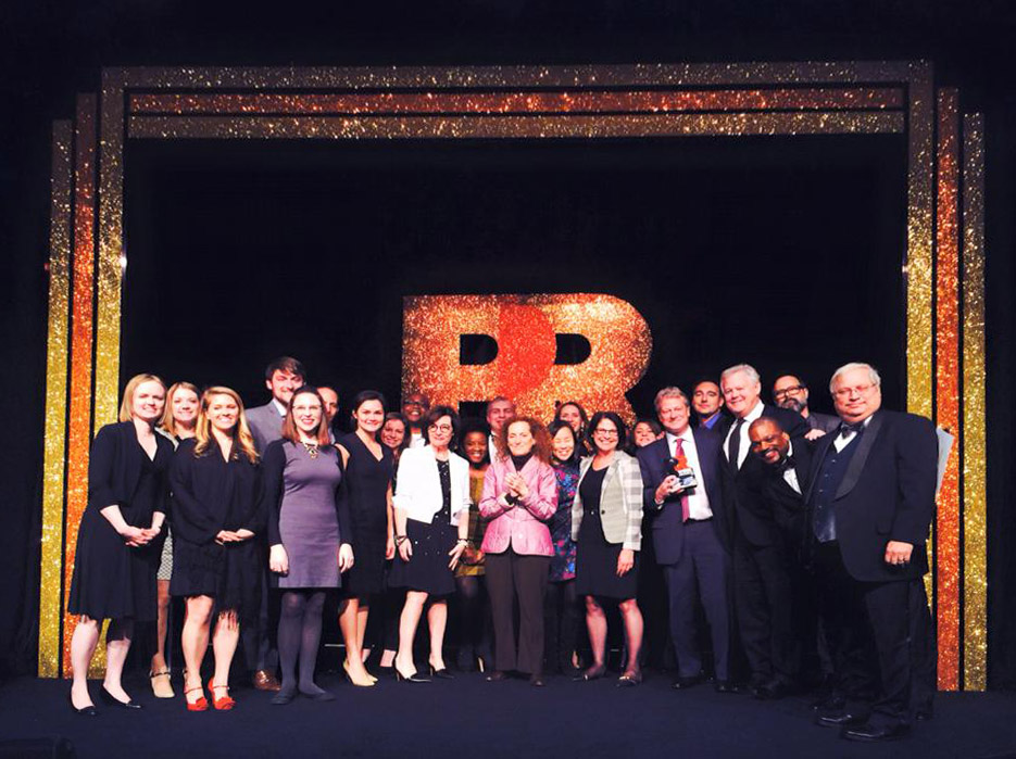 Weber Shandwick Named PR Agency of the Year at 2015 PRWeek Awards