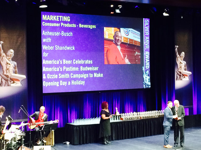 Weber Shandwick and Clients Earn Top Honors at PRSA Silver Anvil Awards