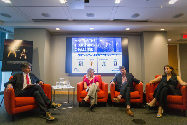 "Weber Shandwick's Social Impact Team Hosts ""Meeting the Transparency Challenge"""