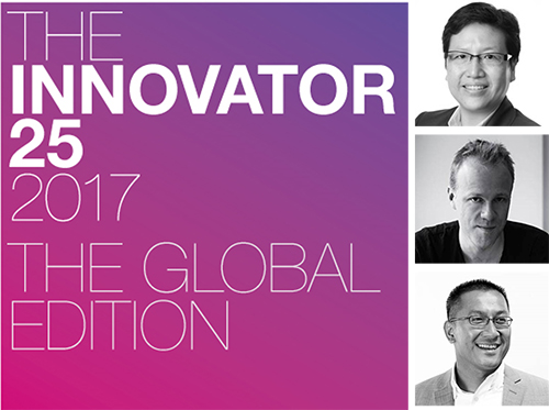 The Holmes Report Names Three Weber Shandwick Leaders to 2017 Innovator 25 List