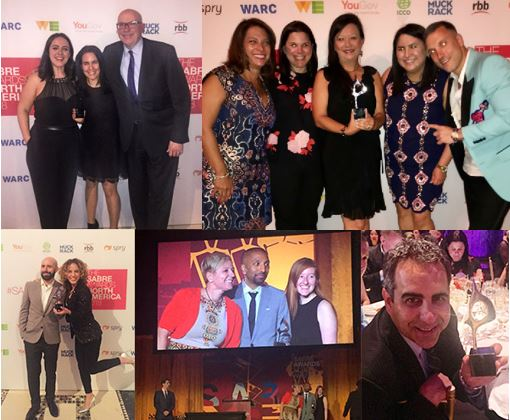 Weber Shandwick Celebrates Wins Across 10 Categories with Clients at 2018 North America SABRE Awards