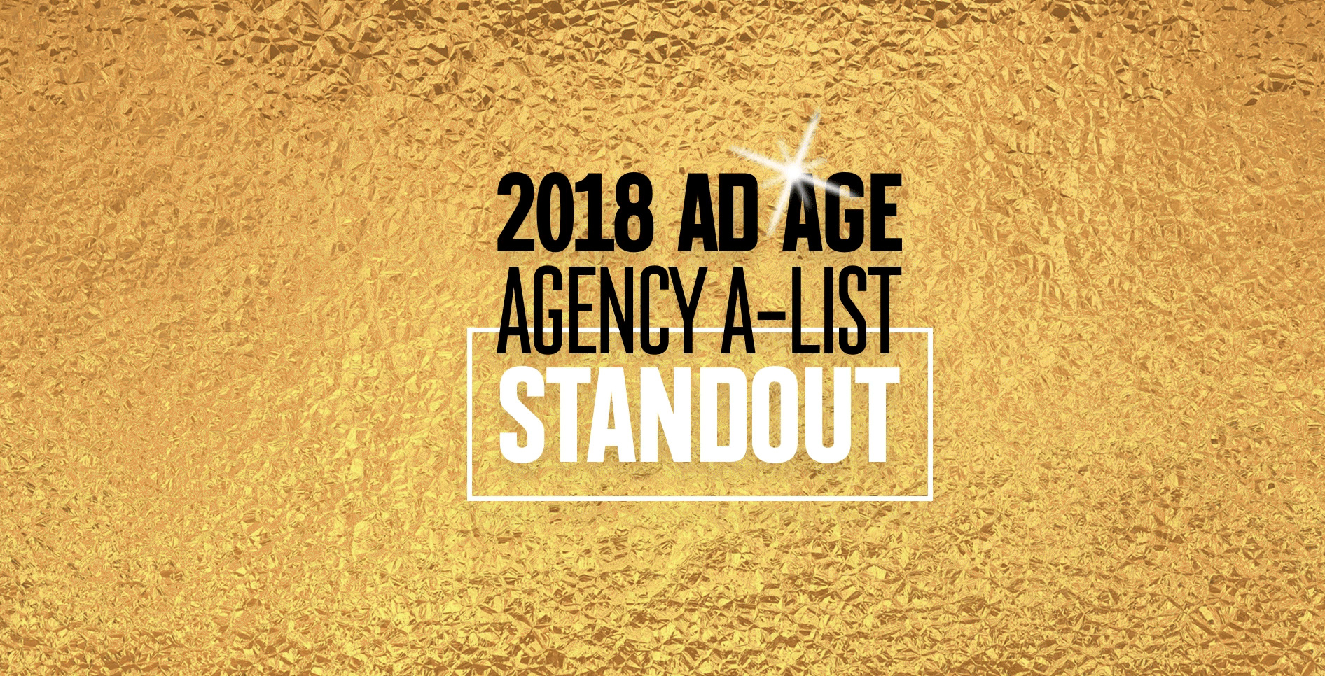 Weber Shandwick Named to Ad Age's 2018 Agency A-List Standout List
