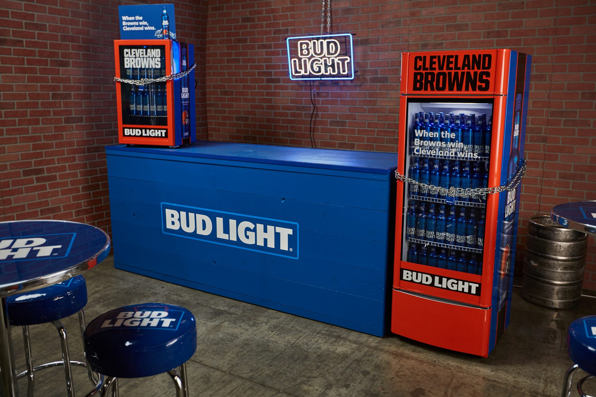 Bud Light's Cleveland Browns 'Victory Fridge' is a PR Win
