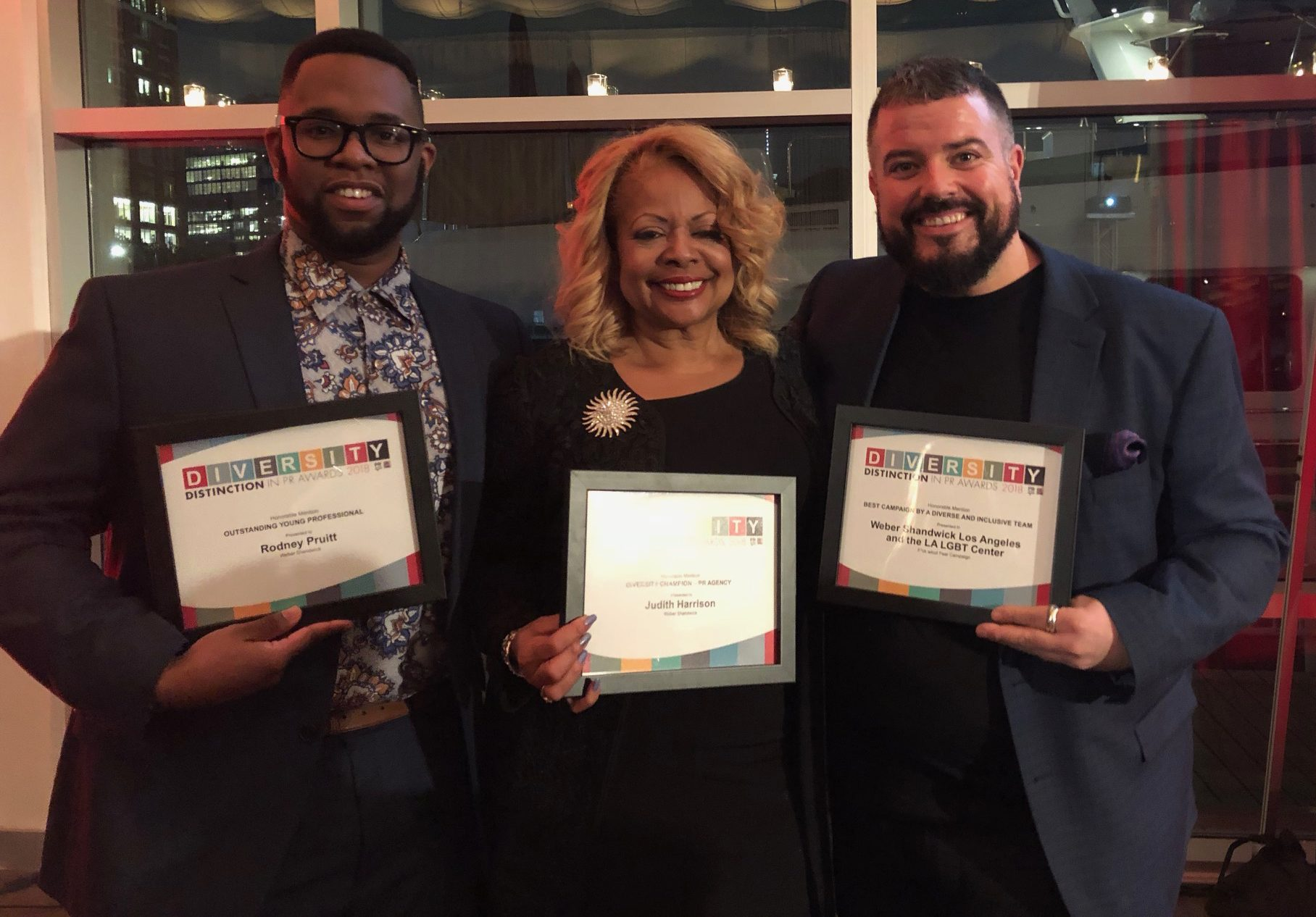 Weber Shandwick Honored Across Three Categories at Diversity Distinction in PR Awards