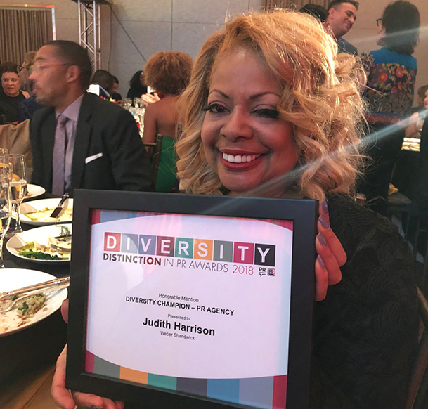 Diversity Distinction in PR Awards