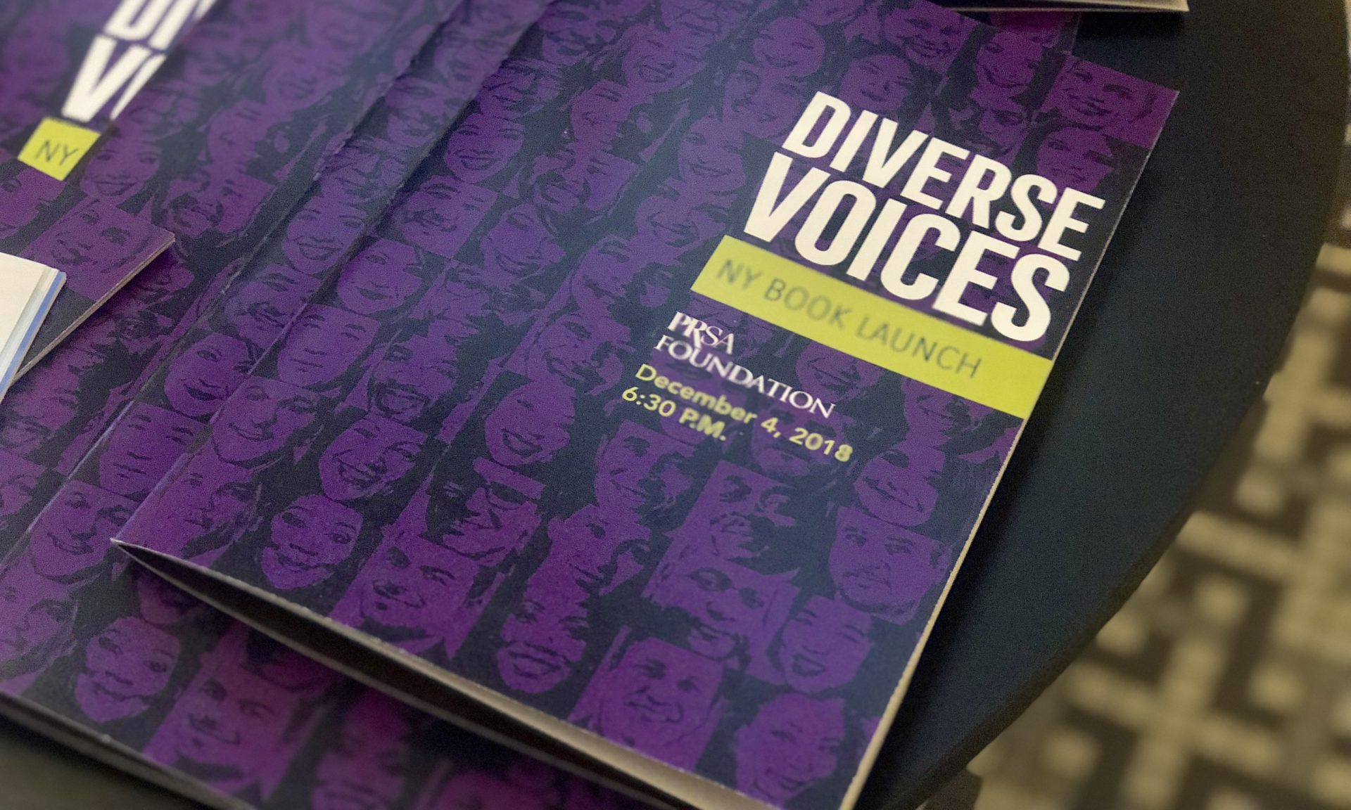 "Weber Shandwick Supports ""Diverse Voices"" Book Launch"
