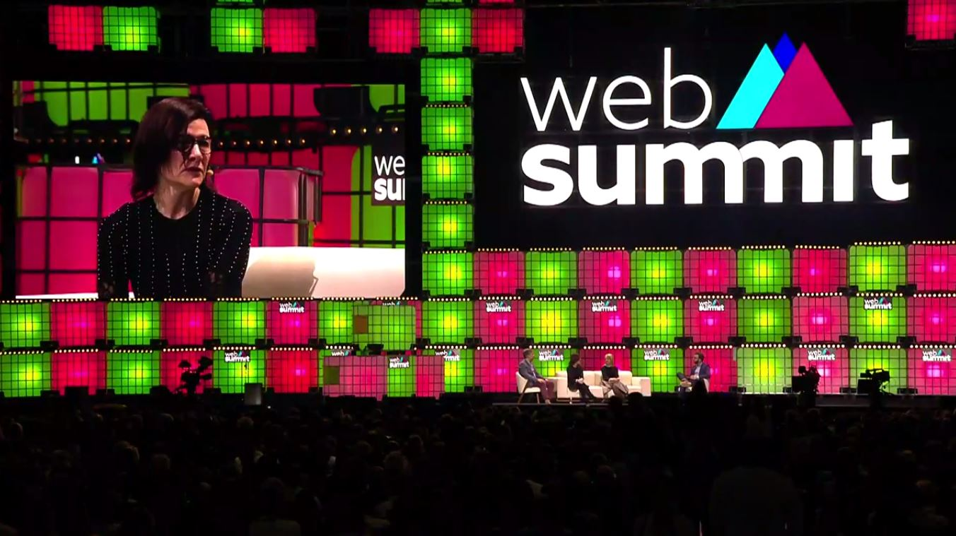 Gail Heimann and Chris Perry Take 2019 Web Summit Stages